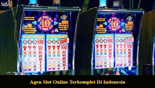 Agen Slot Online Terkomplet Di Indonesia