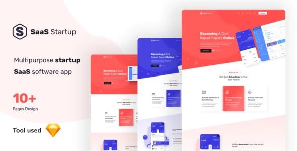 Multipurpose Startup SaaS Template