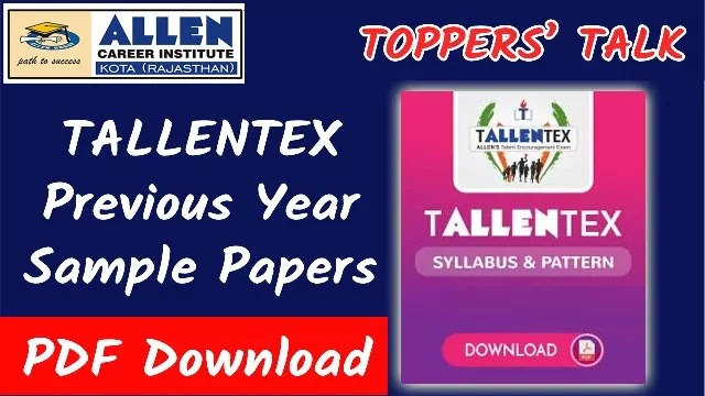TALLENTEX previous year papers