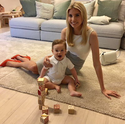 Adorable photo of Ivanka Trump and her son Theodore Kushner