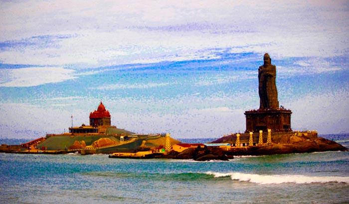 వివేకానంద స్మారక చిహ్నం కన్యాకుమారి తమిళనాడు పూర్తి వివరాలు Vivekananda Memorial Kanyakumari Tamil Nadu Full details