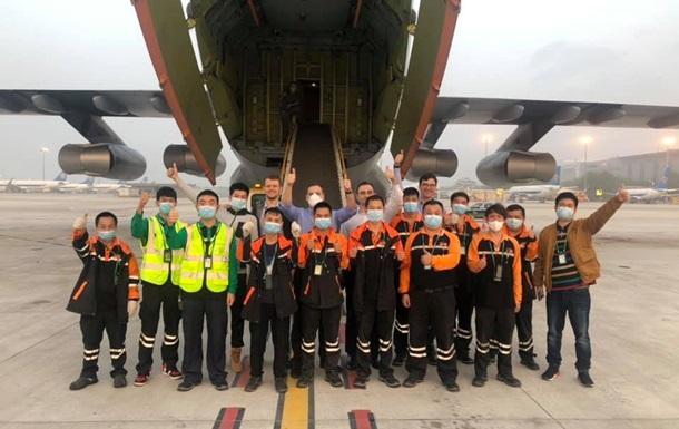 У Китаї завантажили літак ЗСУ
