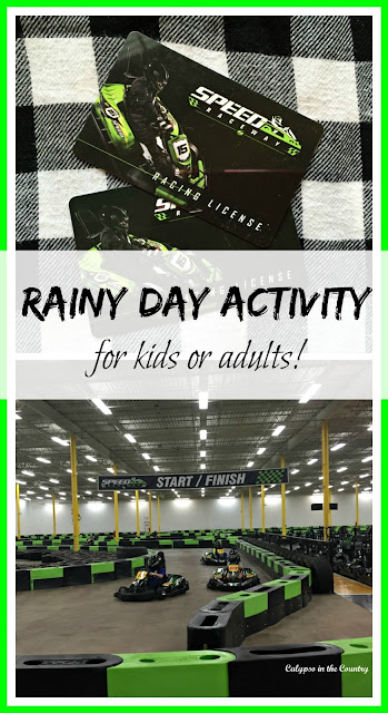 A great rainy day activity for kids or adults!