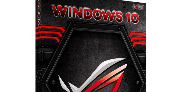 team os windows 10 rog