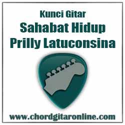 Chord Sahabat Hidup Prilly Latuconsina