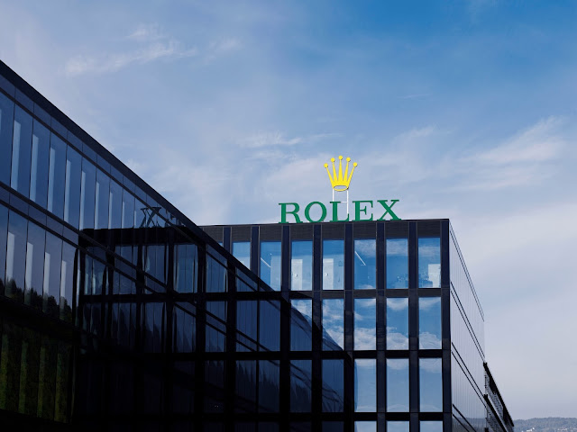 exterior photo of rolex bienne switzerland site