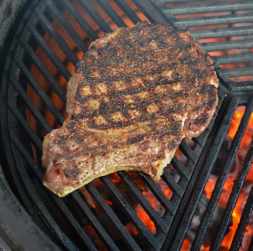 The cast iron grates from Craycort make killer grill marks and are durable
