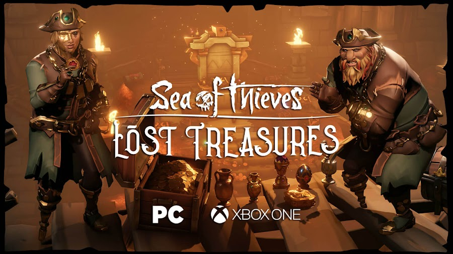 sea of thieves lost treasures free monthly content update dlc pc xb1 rare studio xbox game studios