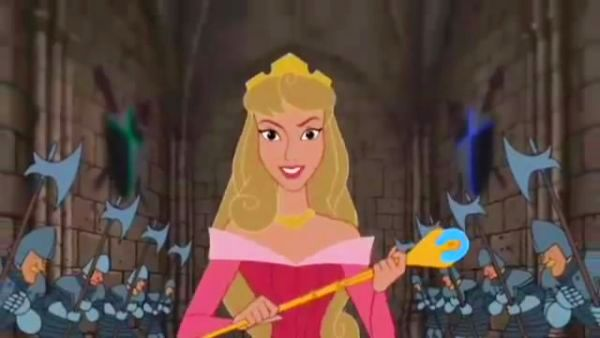 Watch Disney Princess Aurora Keys to the Kingdom song performed by Cassidy Ladden