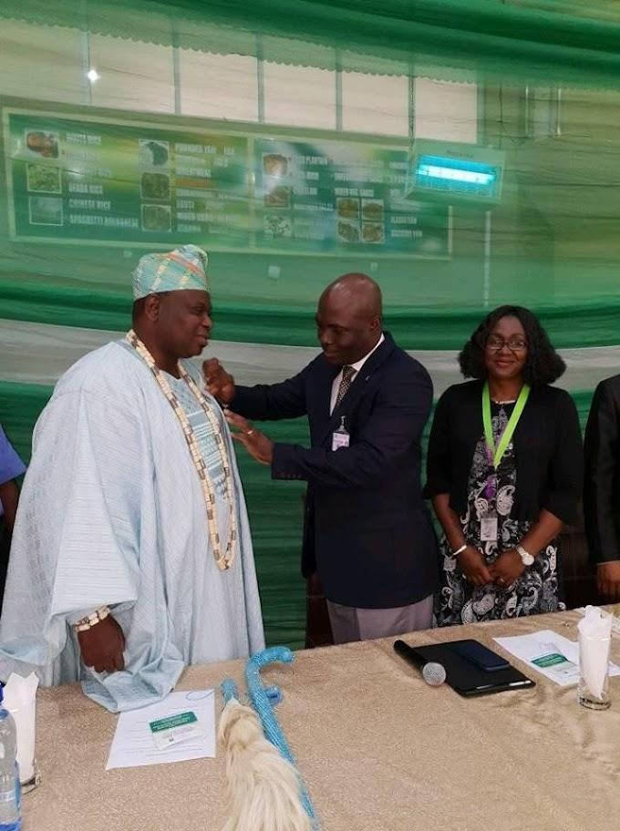 Olota of ota Becomes Life Ambassador of Covenant University