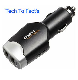 What is the price-review of Amazon basics dual USB car charger?
