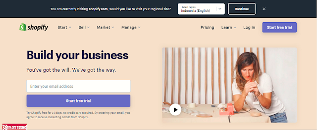 aplikasi pembuatan toko online