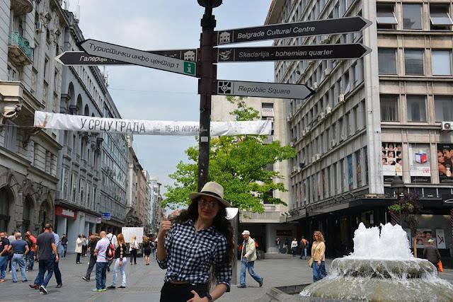 Knez Mihailova Caddesi-Sırbistan