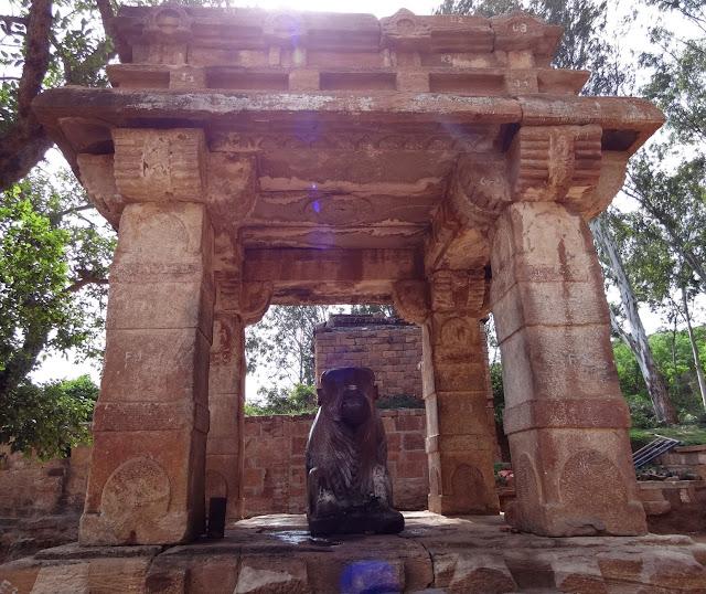 The Monolithic Nandi Sculpture of Mahakuta Temple Complex