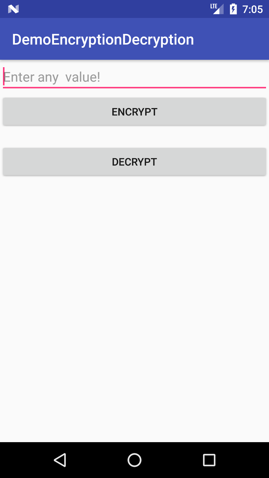 anil@Android: Encryption Decryption Example Android Using AES Alogirthm