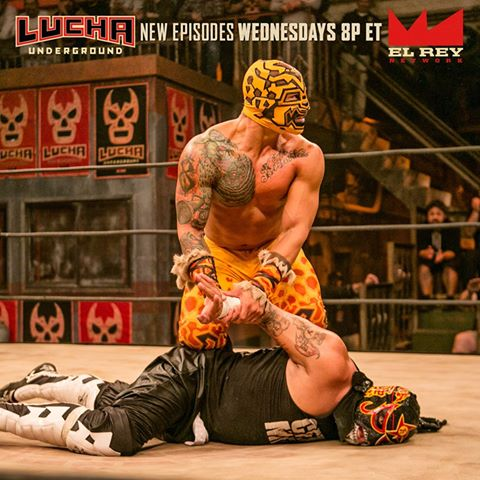 Prince Puma and Pentagon Jr - Lucha Underground