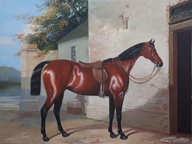 Tranh vẽ ngựa
