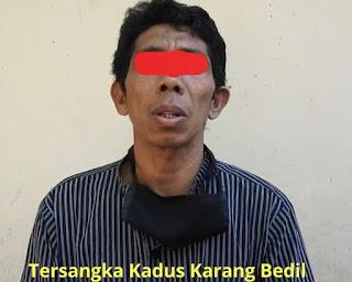 Kadus Karang Bedil Resmi Di Tahan Polres Lombok Barat Atas Penganiayaan Jurnalis