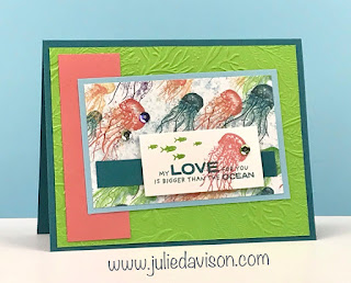 Stampin' Up! Whale of a Time Suite Card ~ 2020-2021 Annual Catalog ~ www.juliedavison.com #stampinup