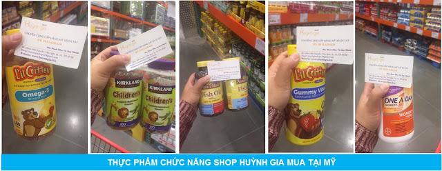 thực phẩm chức năng hàng xách tay từ Mỹ www.huynhgia.biz