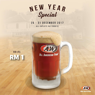 A&W Root Beer RM1 Promo