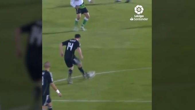 Oezil và pha thi triển tiki-taka của Real Madrid