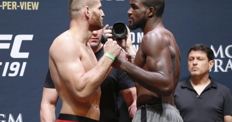 UFC ON ESPN+ 25 Fight Card - Corey Anderson Vs Jan Błachowicz