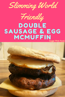 Slimming World Friendly Sausage and egg mcmuffin low syn recipe