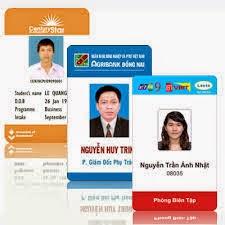 mẫu thẻ nhân viên đẹp