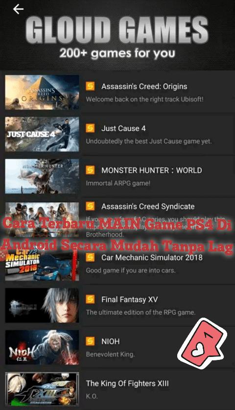 Cara Terbaru MAIN Game PS4 Di Android Secara Mudah Tanpa Lag