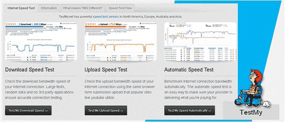 Uji Kecepatan Internet Dengan Website Speed Test Testmy