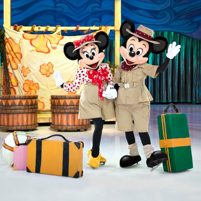 Disney on Ice 'Passport to Adventure' review. We loved it!