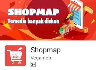 Aplikasi Shopmap pulsa gratis