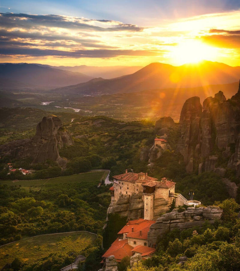 32 Stunning Places on Earth You Should Visit Before You Die - The Meteora, Greece