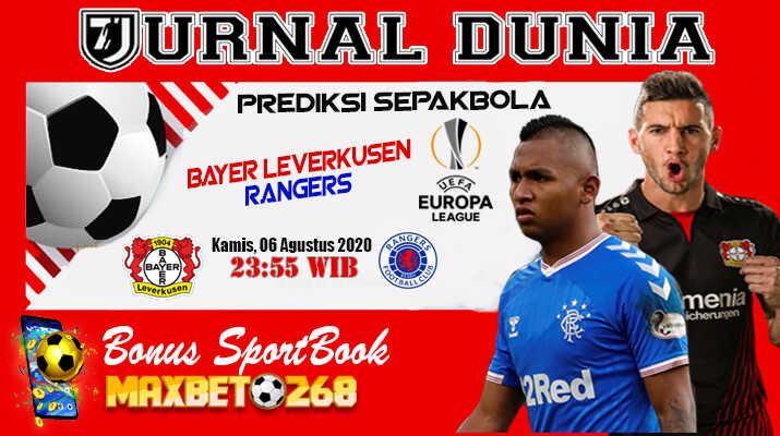 Prediksi Bayer Leverkusen Vs Rangers FC 06 Agustus 2020 Pukul 23.55 WIB