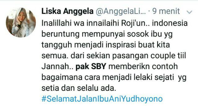 Kisah cinta SBY dengan Ani Yudhoyono