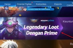 Cara Mendapatkan SKIN Mobile Legends dari Amazon Prime