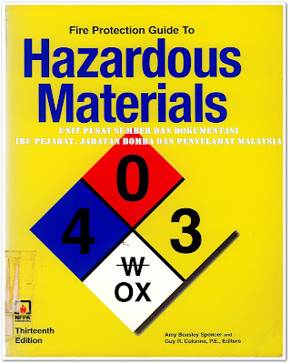 Sipnosis Buku : Fire Protection Guide To Hazardous Materials - 13th Edition