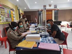 Wasrik Tahap I Tahun 2021 digelar Itwasda Polda Sulut di Polres Minahasa Utara
