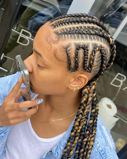 Conrow braids, goddess braids, box braids, knotless braids, crochet braids and more.