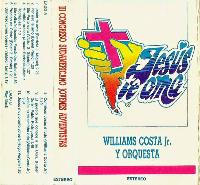 Williams Costa Junior y Orquestra - Jesus Te Ama (Instrumental) 1991
