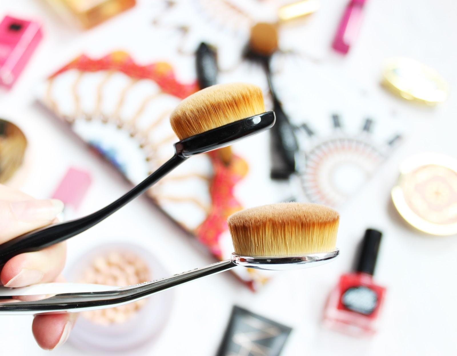 Primark Oval blending brushes Artis Dupe - review