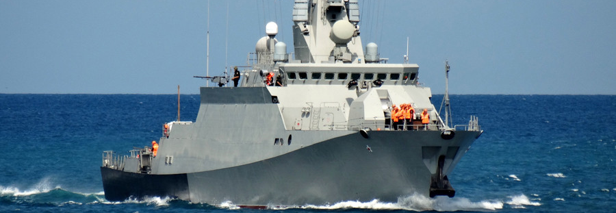 МРК Інгушетія розпочав випробування у Чорному морі