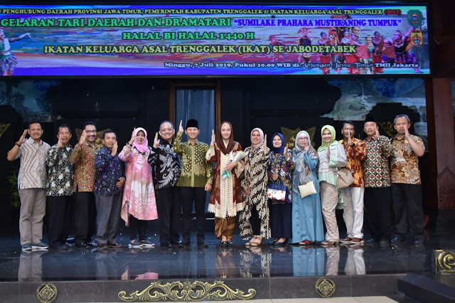 Jargon MEROKET tuai Pujian dan Dukungan dari Berbagai Pihak dalam Pagelaran Seni Budaya Daerah di TMII