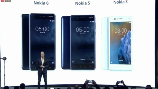 نوكيا تكشف عن هواتفها الذكية الجديدة