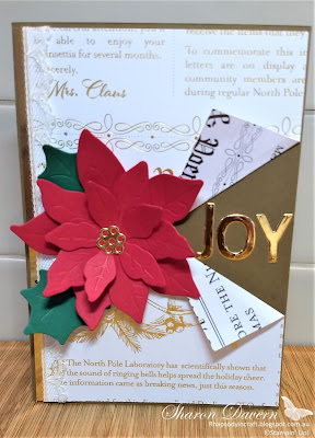 Rhapsody in Craft, Heart of Christmas 2020, Poinsettia Dies, Poinsettia, Playful Alphabet Dies, Christmas Cards, #heartofchristmas2020, Stampin' Up! #loveitchopit