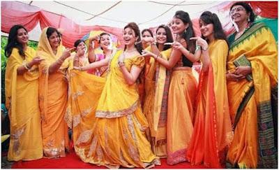 Divyanka-Tripathi-and-Vivek-Dahiya-haldi