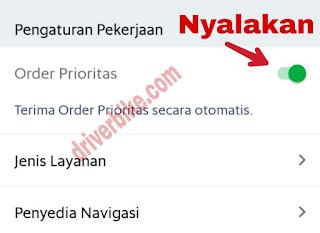 order prioritas grab
