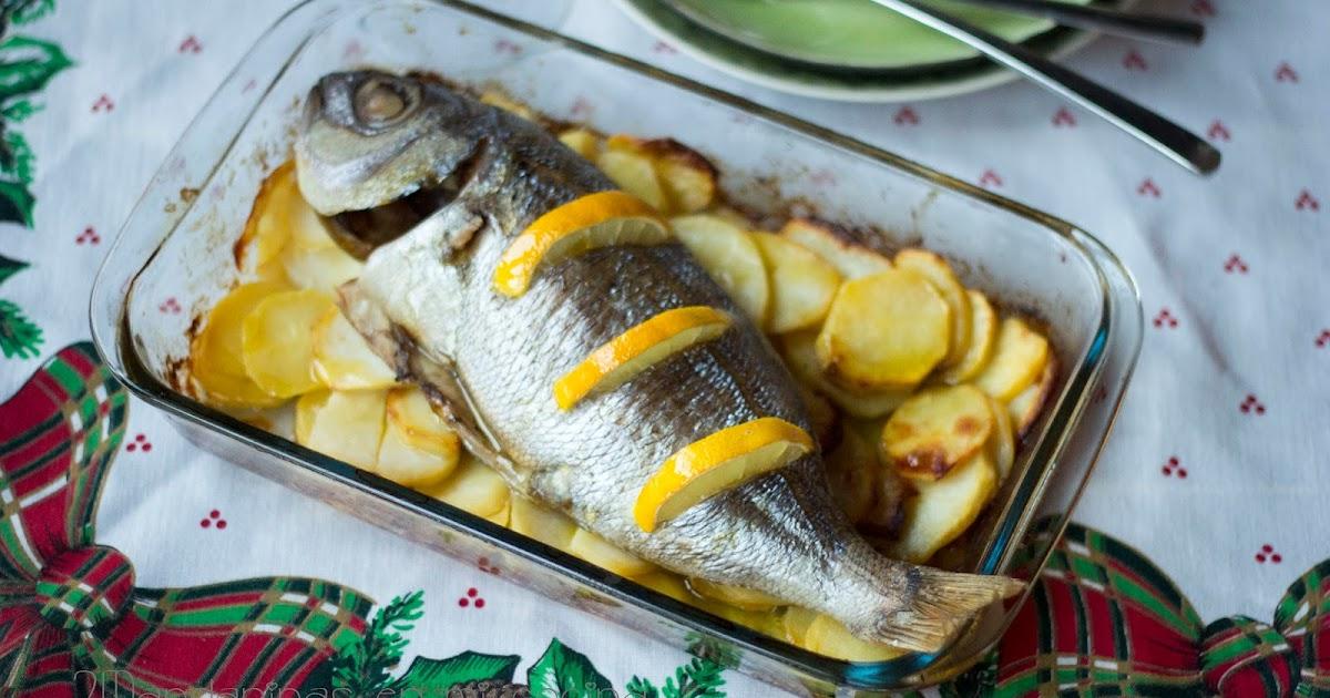 C mo preparar besugo al horno 2mandarinas en mi cocina for Como cocinar pescado al horno