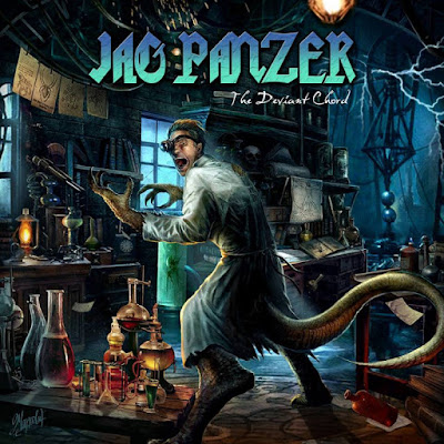 """Το lyric video των Jag Panzer για το τραγούδι """"Fire Of Our Spirits"""" από το album """"The Deviant Chord"""""""